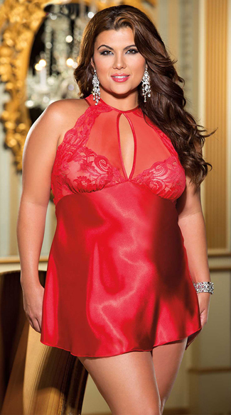 Wife Red Lingerie 30