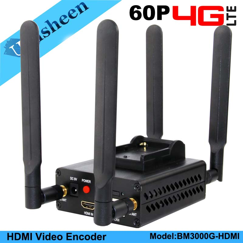 4G LTE H 264 HDMI Video Encoder Low Lantency Live Stream Transmitter Ip Encoder Broadcast wireless