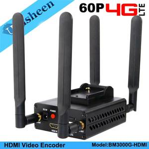 4G LTE H.264 HDMI Video Encoder Low Lantency Live Stream Transmitter Ip Encoder Broadcast wireless wowza youtube facebook