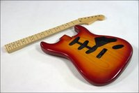 Gỗ cao cấp Electric Guitar Kit Ash Body Canada Maple c