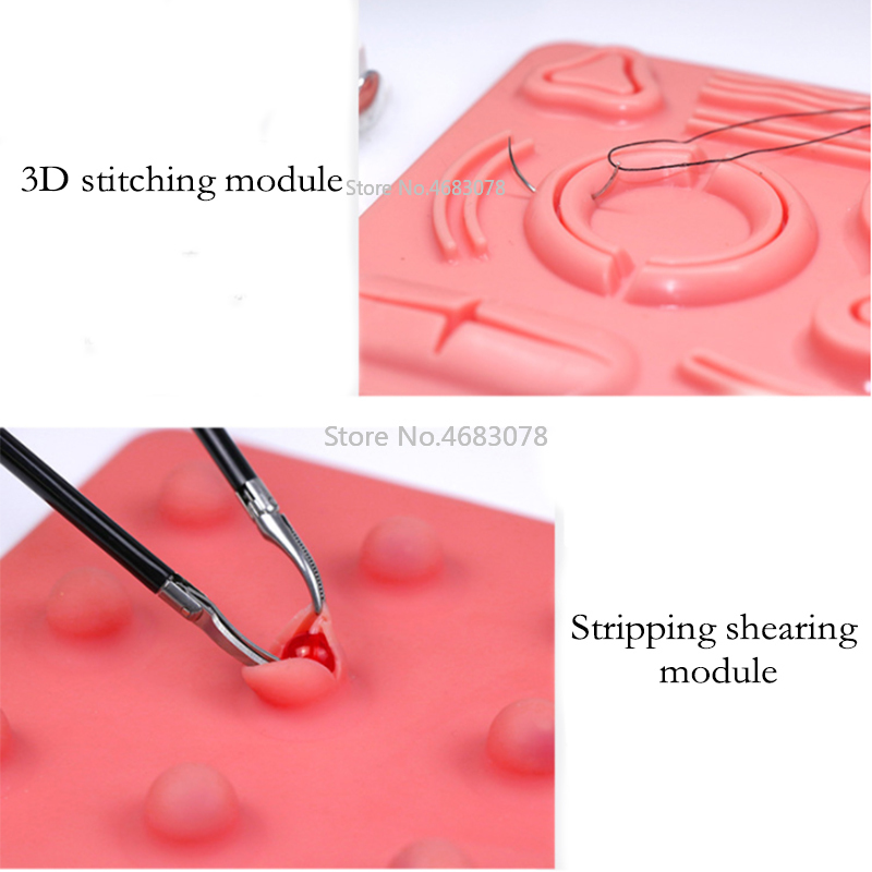 New Laparoscopic Surgery Training Module, Suture, Shear, Peel, Clip, Traction And Perforation Module