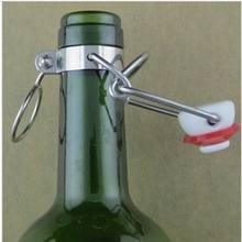 12 pçs ez tampa de cortiça aleta topo rolha raiz garrafas de cerveja substituição swing topos cerveja homebrew rolhas de vinho