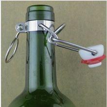 12Pcs Ez Kurk Cap Flip Top Stopper Wortel Bier Flessen Vervanging Swing Tops Homebrew Brouwen Wijn Stoppers