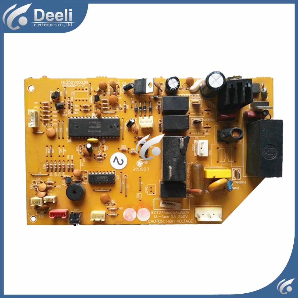 good working for air conditioning board Cold and warm HL35GVX003B HL35GVX003 circuit board used board good working for air conditioning board Cold and warm HL35GVX003B HL35GVX003 circuit board used board
