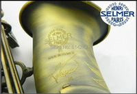 Henry Reference 54 Selmer Alto Saxophone Drop E Green Green Bronze