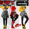 2016 New fashion slim Adult  Costumes legging  harem Hip hop dance practice  faux two legging