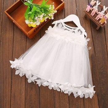 fa6350be5 1 año cumpleaños niño niña Vestido de bautismo trajes sólidos bebé recién  nacido princesa Vestido de regalo para niños vestidos de bautizo