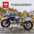 20032 Техника Серии BAMW внедорожных 42063 Мотоциклов R1200 GS Строительные Блоки Кирпичи Развивающие Игрушки совместимо с lego