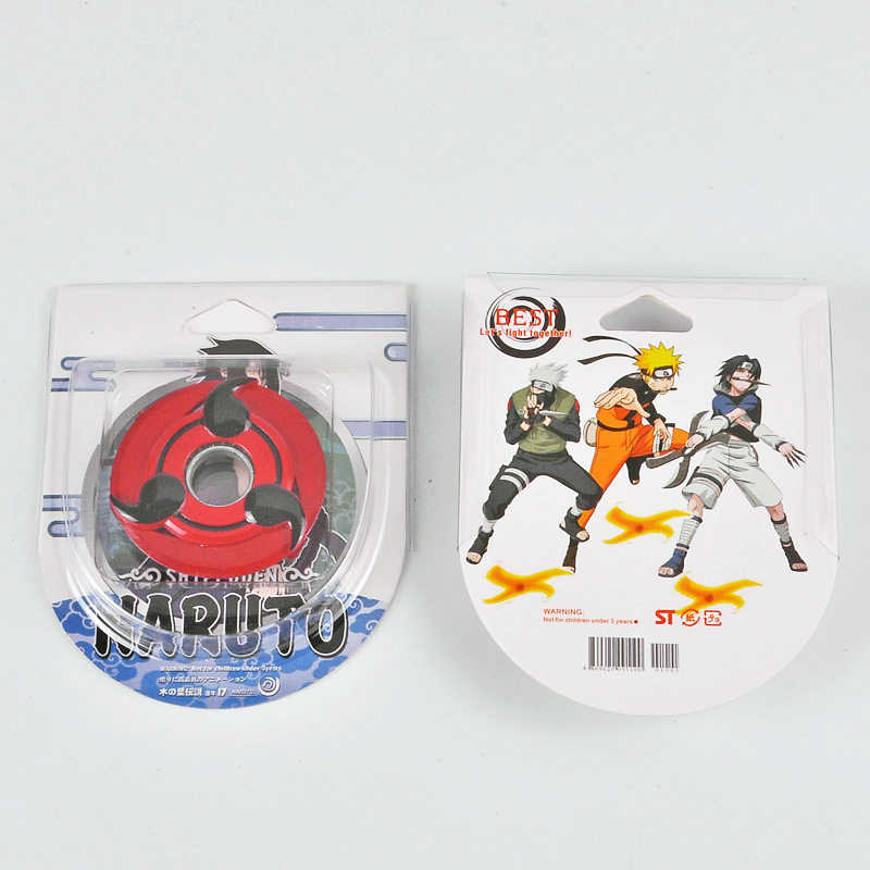 Аниме Наруто косплэй металл поворотный книги об оружии модель игрушечные лошадки Хокаге Учиха сасуке Шаринган Shuriken сплав дети подарок опора