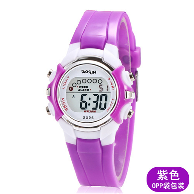Children's Watch electronic Clock Girl Boy cute Wristwatch multi-function luminous waterproof hot Trend Fashion children's clock