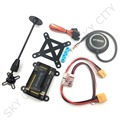 APM 2.8 Flight Controller with Shock Absorber NEO M8N GPS 5V 3A Power Module XT60 Plug GPS Stand