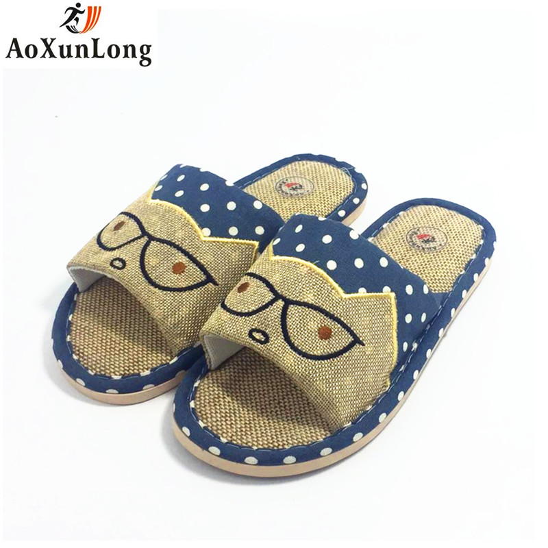 Spring Slippers Men Glasses Cat Flat Cotton Home Slippers Indoor Casual Men Shoes Zapatos Hombre Sapato Masculino Mens Shoes 45 fghgf shoes men s slippers mak