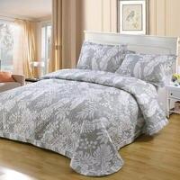 Luxury Cotton Queen size Bed cover set Bed spread bedspread Quilt Mattress topper Blanket Pillowcase couvre lit colcha de cama