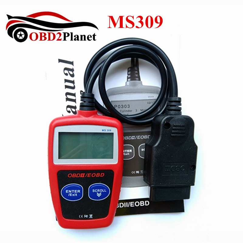 MaxiScan MS309 OBD2 OBDII Scanner CAN BUS Code Reader Car Diagnostic Tool MS309 MaxiScan MS 309