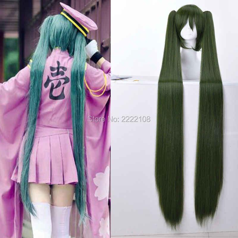Personnalisé Vocaloid Hatsune Miku Cosplay Costumes Senbonzakura MEIKO Haut De Kimono Robe Uniforme Tenue Anime Costumes miku perruques