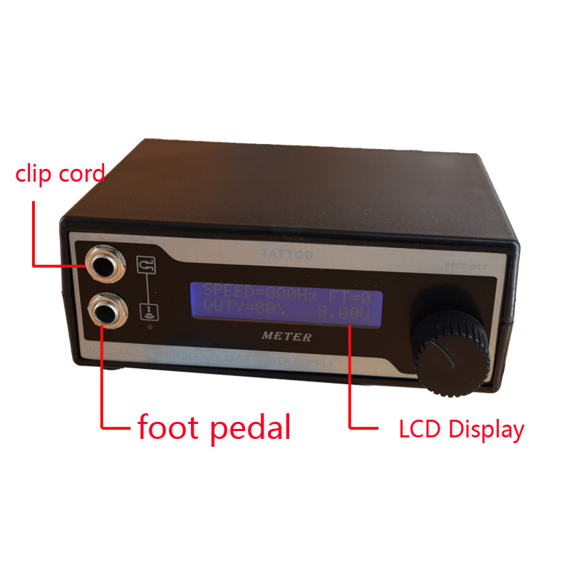 High quality Intelligent Digital LED Display Professional tattoo power supplies permanent makeup machine Free Shipping