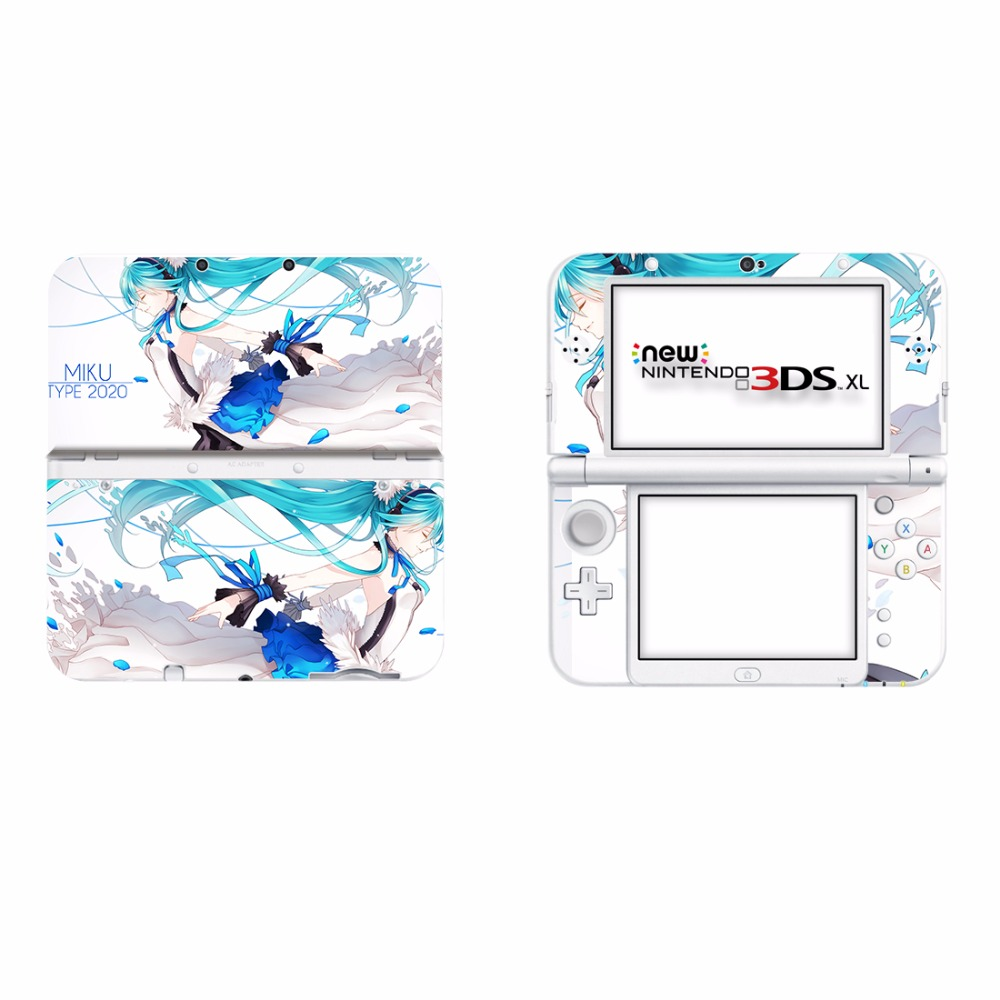 New 3ds Games 2020.Hatsune Miku Vinyl Cover Decal Skin Sticker For New 3ds Xl