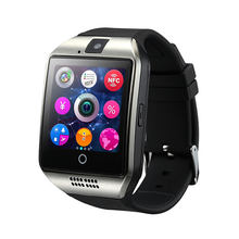 Q18 Smart Watch with Touch Screen Support TF Sim Card Camera for Android Phone Bluetooth Smartwatch(China)
