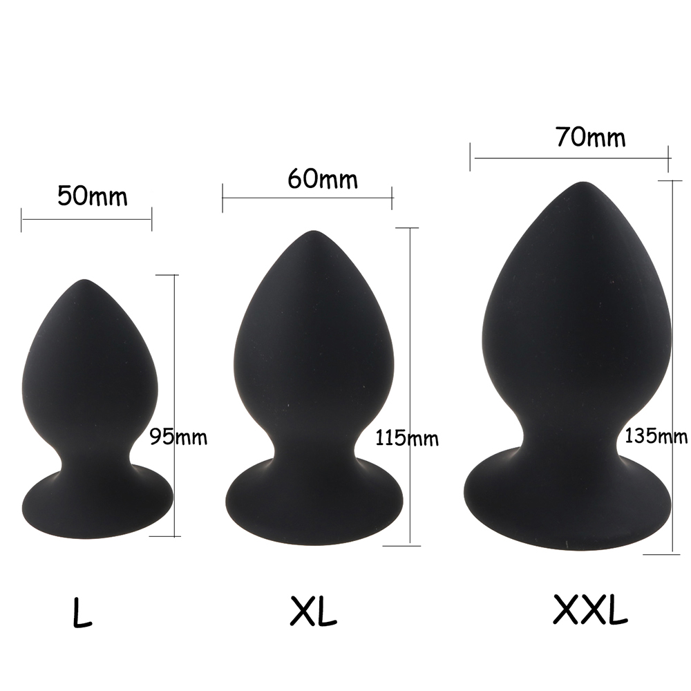 Super Big Size Anal Plug Silicone Butt Plug Large Huge Sex Toys for Women Anal Plug Unisex Erotic Toys Sex Products for Men 1