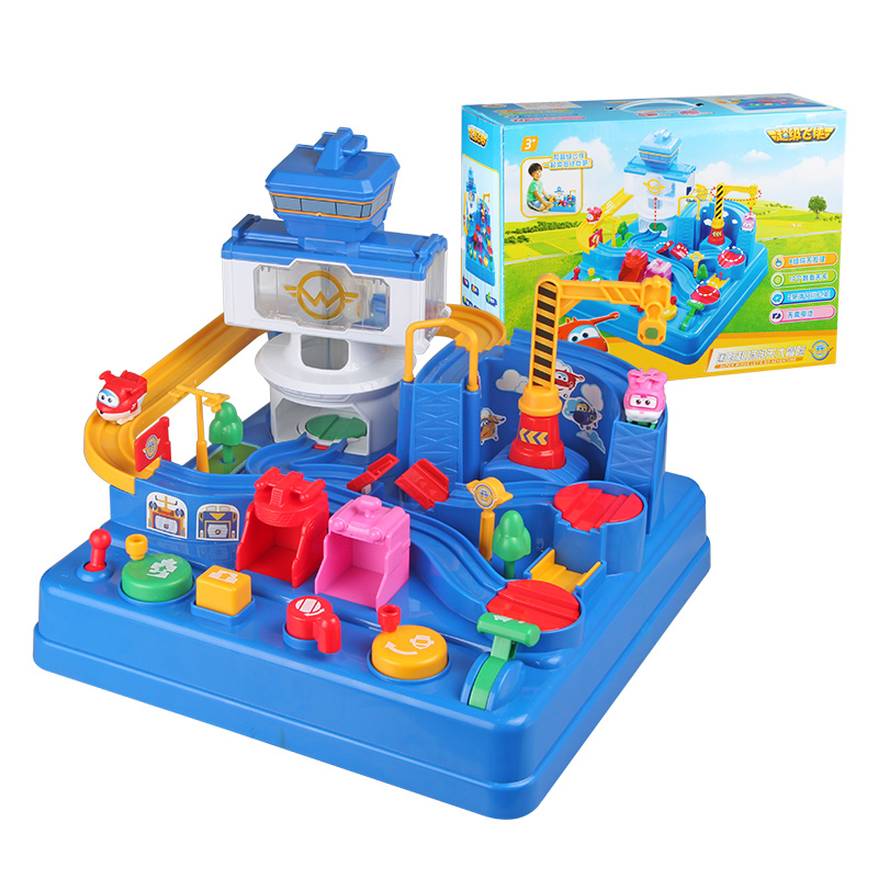 2018 with Original Box Super Wings Intelligence Control Centre with Planes Action Figures Transformation Toys for Children Toys цена