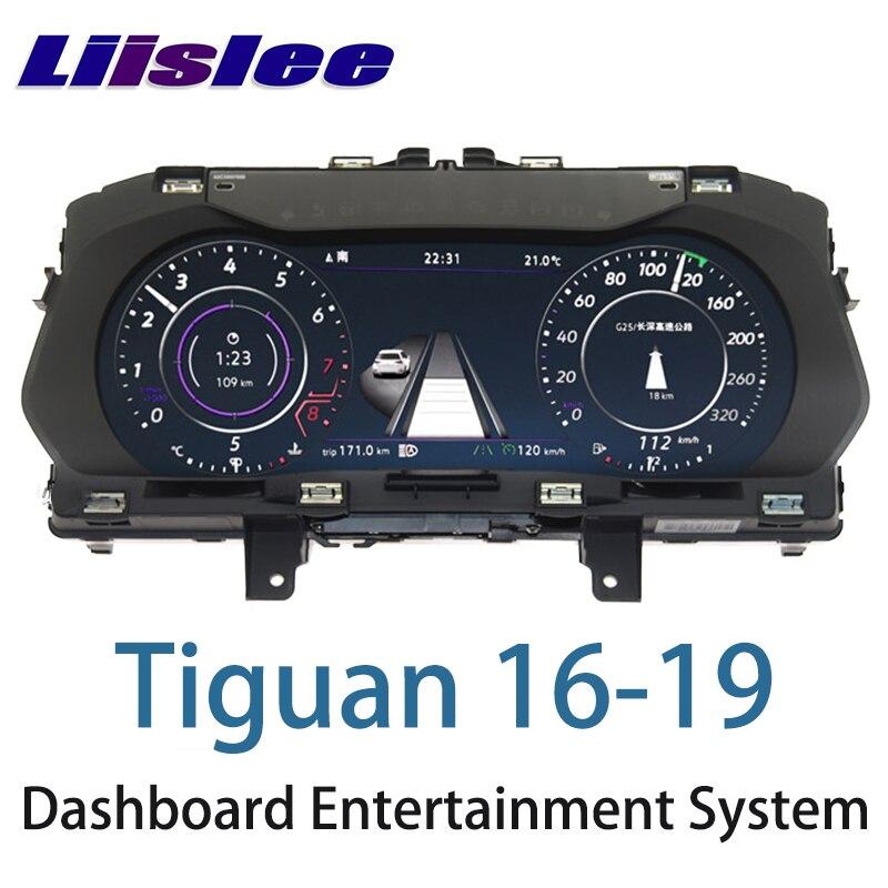 LiisLee Instrumento Painel Dashboard Substituição Do Sistema de Entretenimento Inteligente para Volkswagen Tiguan 2016 2017 2018 2019