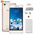 Бесплатный случай MTK6580 Blackview A8 смартфон 5.0 дюймов IPS HD Quad Core Android 5.1 Мобильный Сотовый Телефон 1 ГБ RAM 8 ГБ ROM 8MP 3 Г GPS