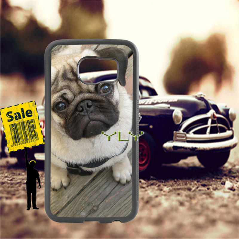 animale pug dog silicone soft phone cases for samsung s3 s4 s5 s6 s6edge plus s7 s7edge s8 s8plus s9 s9plus note5 note8 case