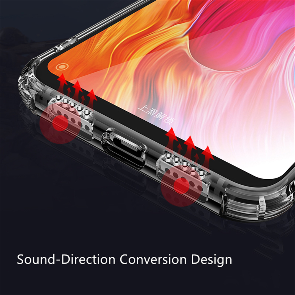 Airbag Clear Soft Phone Case for Xiaomi Mi 9 8 SE A1 A2 Lite PocoPhone F1 Crystal TPU Silicone Cases for Redmi Note 5 6 7 Pro in Fitted Cases from Cellphones Telecommunications