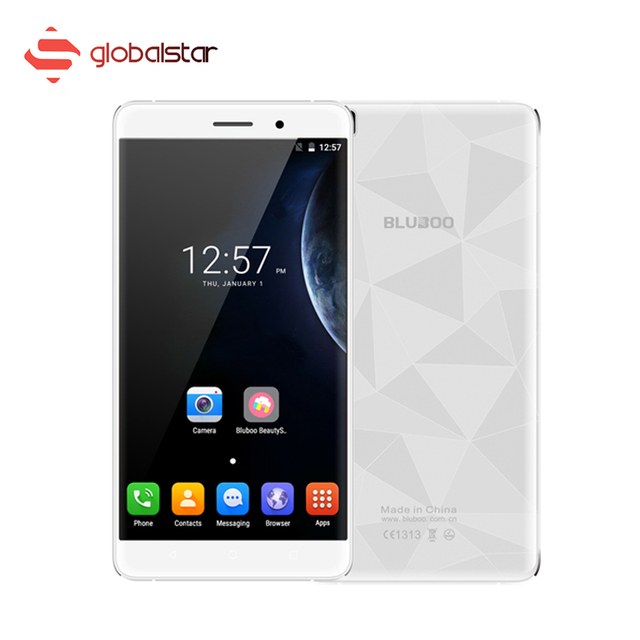 Original Bluboo Maya Android 6.0 3G Smartphone MT6580A Quad Core 5.5 inch Mobile Phone RAM 2GB ROM 16GB Dual SIM Cellphone