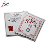 New Pirastro Tonica Silver Violin String A E G D 4 Pcs Set Full Strings Free