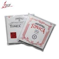 New Pirastro Tonica Silver Violin String A E G D 4 Pcs Set Full Strings Free