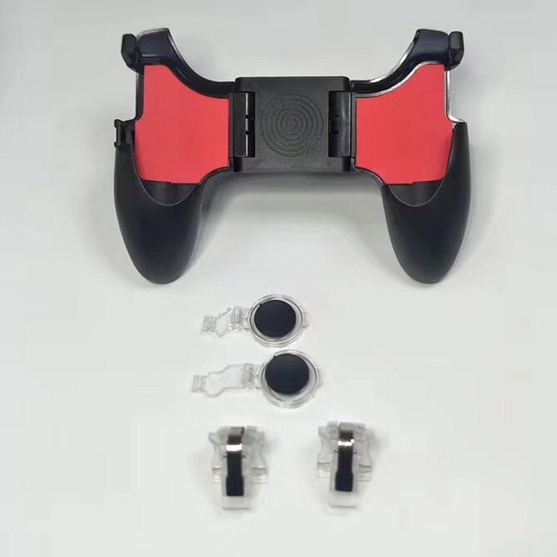 Image 3 - PUBG Mobile Controller 5in1 Mobile Phone Gamepad Joystick / Trigger L1r1 Pubg Fire Buttons For iPhone Android IOS-in Gamepads from Consumer Electronics