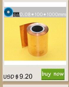 1000mm Folha de Cu Puro Placa de