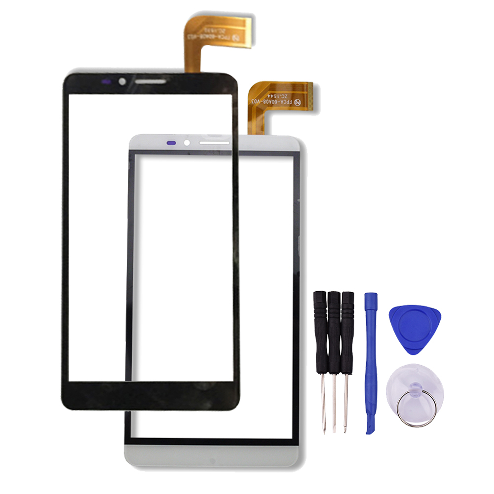 New 6 inch Touch Screen for Ginzzu ST6040 ST 6040 Tablet Panel Glass Sensor Digitizer Replacement + Repair Tools new touch screen glass nt620c st141 glass panel for repair