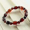 New Fashion Female Gifts Rosary Beads Natural Agate Beaded Bracelet Dream Crystal Bracelet Cherry Color Vintage Jewelry