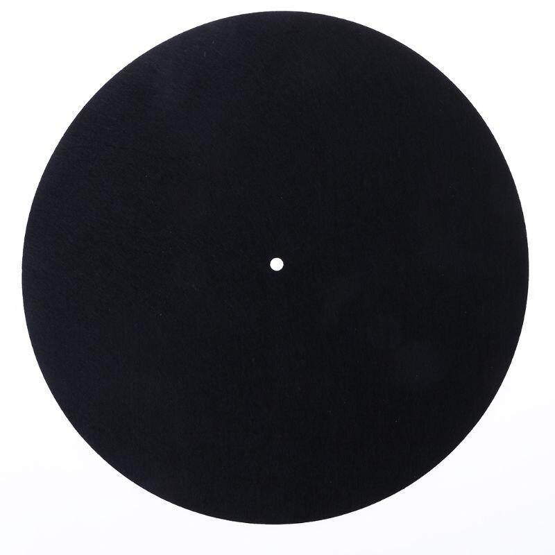 Felt Turntable Platter Mat LP Slip Mat Audiophile 3mm Thick For LP Vinyl Record