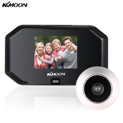 KKmoon 3-дюймовый ЖК-дисплей Смарт Цифровой Дверной Глазок Камера 1.0MP 100 градусов угол обзора дверь глаз Запись видео глазок дверной звонок