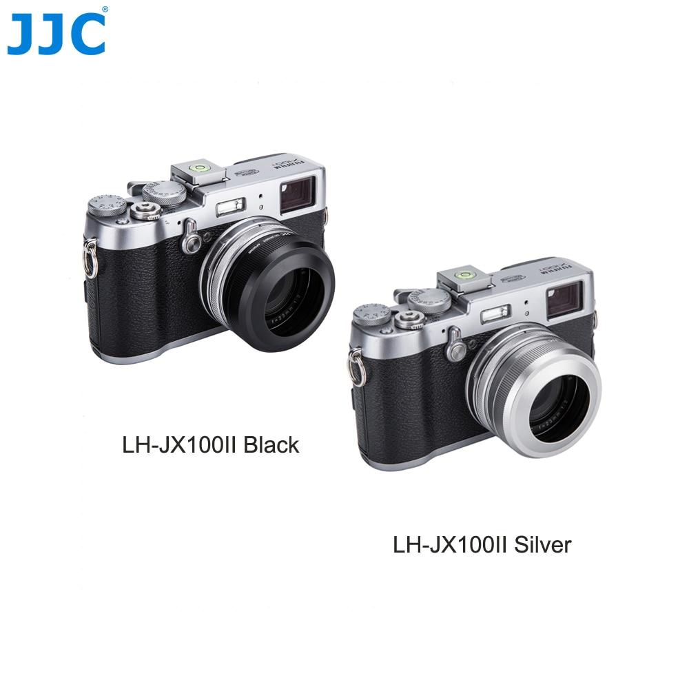 Silver JJC Mark II Metal 49mm Filter Adapter Ring /& Lens Hood Shade Protector for Fujifilm X100F X100T X100S X100 Replaces Fujifilm AR-X100 LH-X100