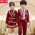 Kindergarten Park suit autumn and winter clothing British wind school uniforms school service new children 's clothing