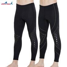 Pantalon de plongée en néoprène de plongée & SAIL 1.5mm, garde au chaud, combinaison de plongée en apnée pour hommes, hiver, natation, rames, surf