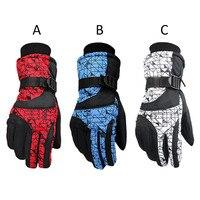 New Winter Ski Snowboard Gloves Motorcycle Riding Women Men Full Finger Ski Gloves Windproof Waterproof Unisex