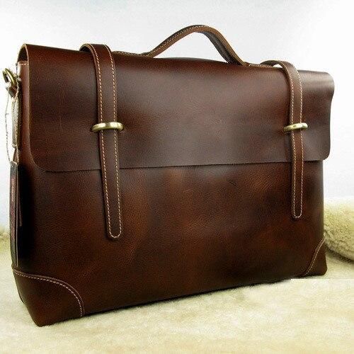 Business casual leather bag genuine leather man bag briefcase laptop bag handbag messenger bag