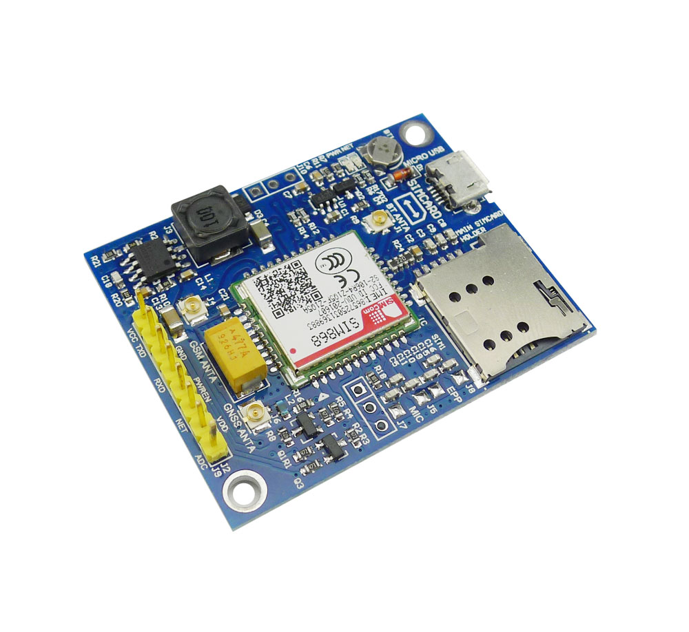 US $23 5  Aihasd SIM868 Development Board GSM GPRS GPS BT Module Replace  SIM808 for Arduino STM32 51 5 18V-in Integrated Circuits from Electronic