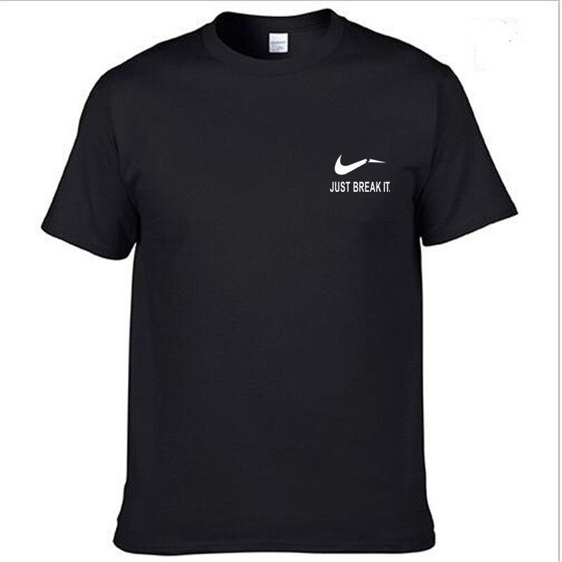 Devin Du New Camisetas JUST BREAK IT T Shirt Mens Graphic T-shirts Print Casual Tshirt Men O Neck Hip Hop Short Sleeve