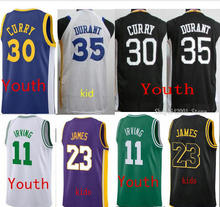 1382948d4891 Kids High-quality Kevin Durant 35 Jersey 30 Stephen Curry 23 Lebron James  Kyrie Irving