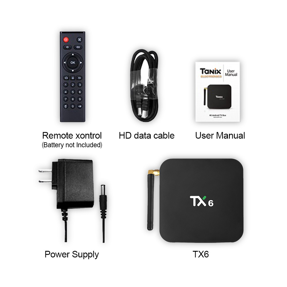 1 Year IPTV Code Android 9.0 Box TX6 4+64G Support BT5.0 USB3.0 Dual-Band WIFI IP TV Subscription Arabic France IPTV Set Top Box (17)