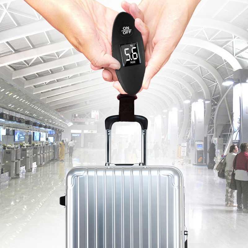 Hoomall 100g/40 кг цифровые весы для багажа весы с ЖК-дисплеем Новинка портативные мини-Электронные карманные переносной штатив для Вес баланс