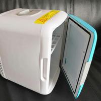 4L 12V Eletric Mini Car Fridge Portable Car Home Refrigerator Fridge Auto Cooler Dual use Cool Warmer Cans Beer Cooler Freezer
