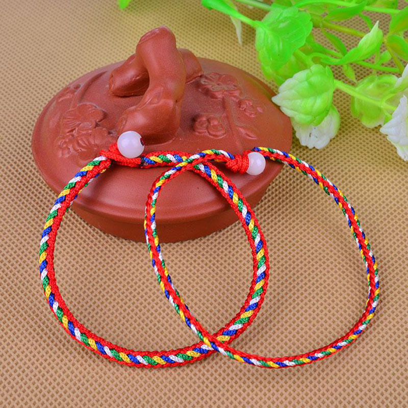 The Dragon Boat Festival, Colorful Rope, Fine Style, There Are Manufacturers Of Direct Marketing Scenic Spot Goods Store Supply