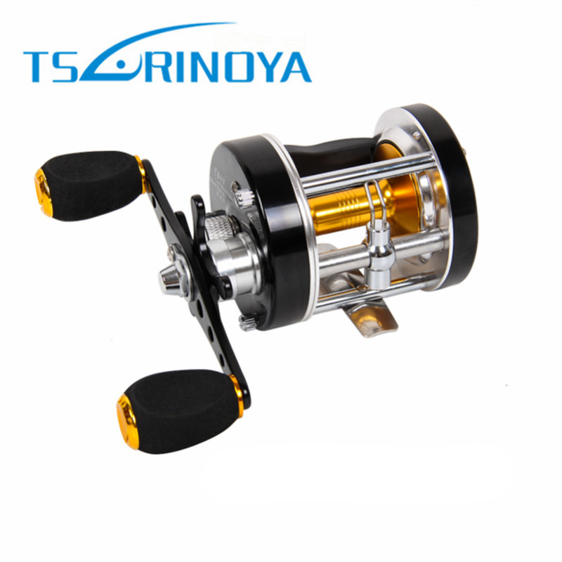 Trulinoya Left/Right Hand Baitcasting Reels 5.2:1 7+1BB Drum Fishing Reel Carretilha Pesca Ocean Saltwater Boat Trolling Fishing trulinoya distant wheel 7 1bb 4 9 1 full metal jig ocean boat sea trolling reel carretes pesca spinning fishing reel molinete